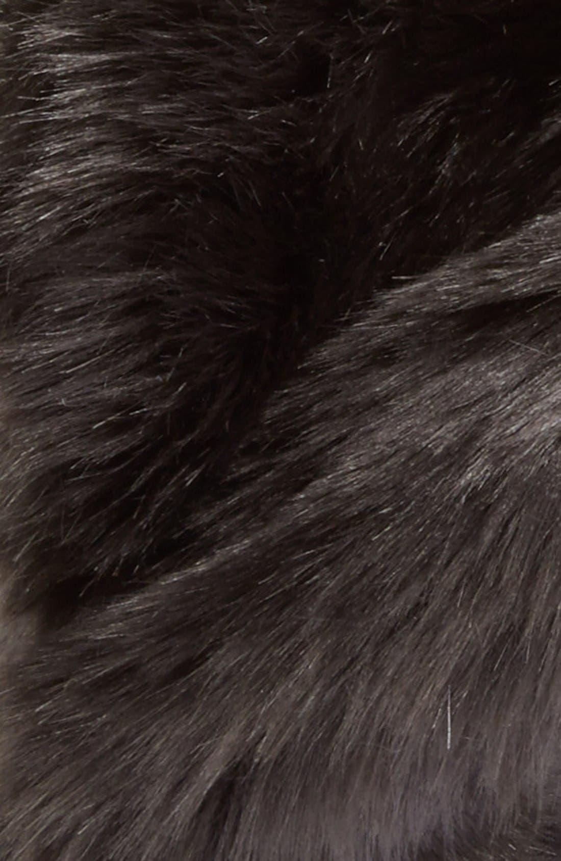 Alternate Image 2  - August Hat Faux Fur Earmuffs