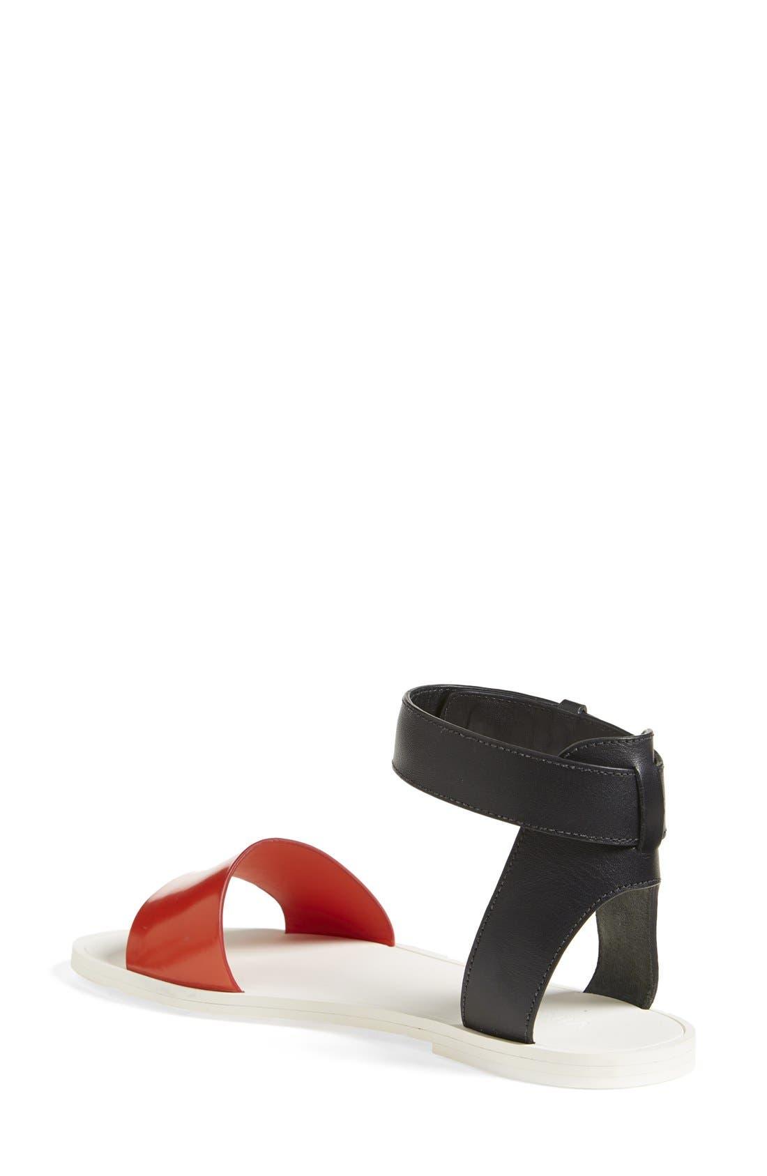 Alternate Image 2  - Vince 'Sawyer' Colorblock Sandal (Women)