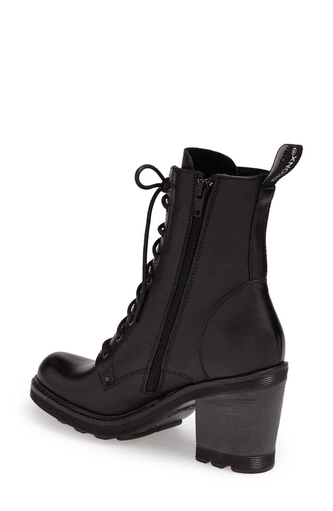 Alternate Image 2  - BRONX USA 'Here N Now' Leather Bootie (Women)