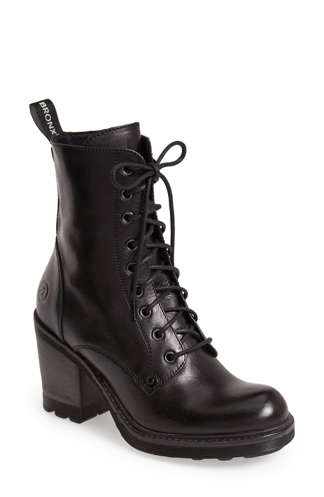 Main Image - BRONX USA 'Here N Now' Leather Bootie (Women)