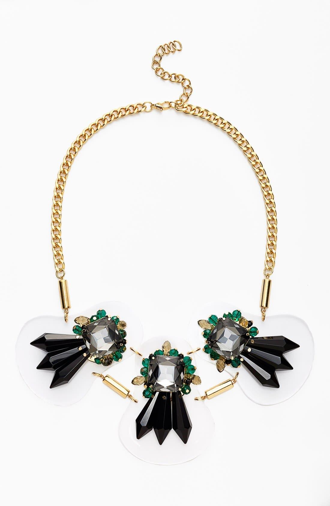 Alternate Image 1 Selected - Adia Kibur Art Deco Crystal Necklace