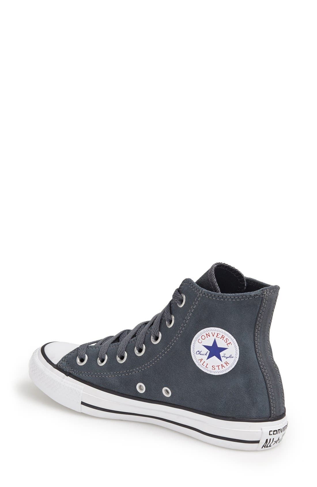 Alternate Image 3  - Converse Chuck Taylor® All Star® Suede High Top Sneaker (Women)