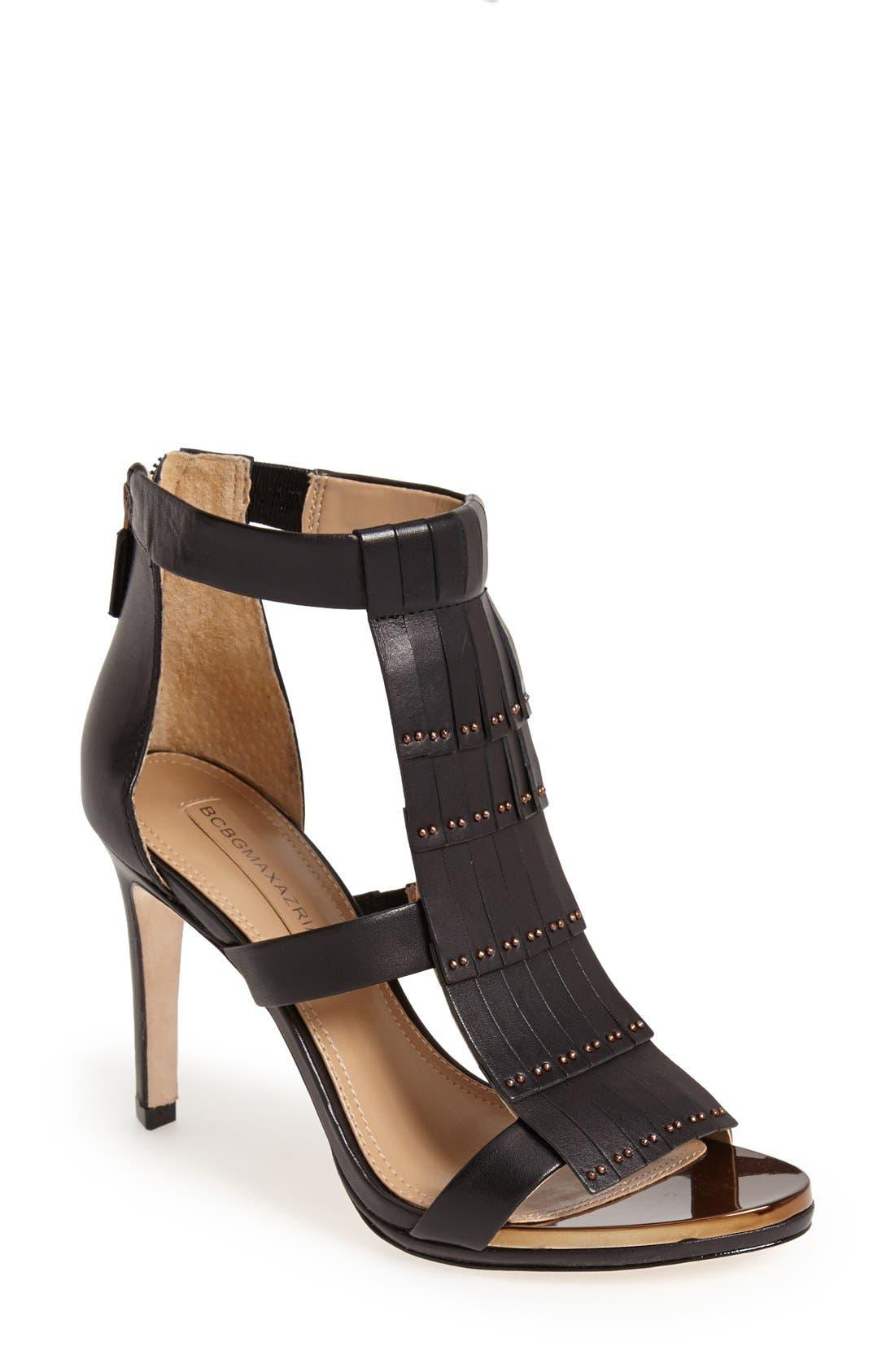 Main Image - BCBGMAXAZRIA 'Leigh High' Sandal (Women)