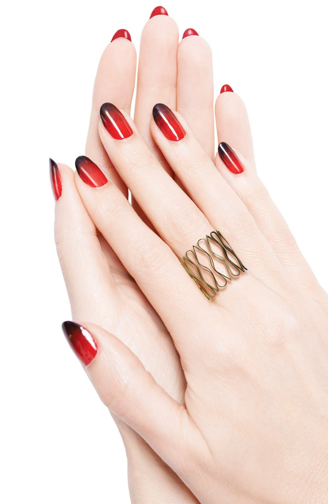 Christian Louboutin Fade To Rouge Manicure