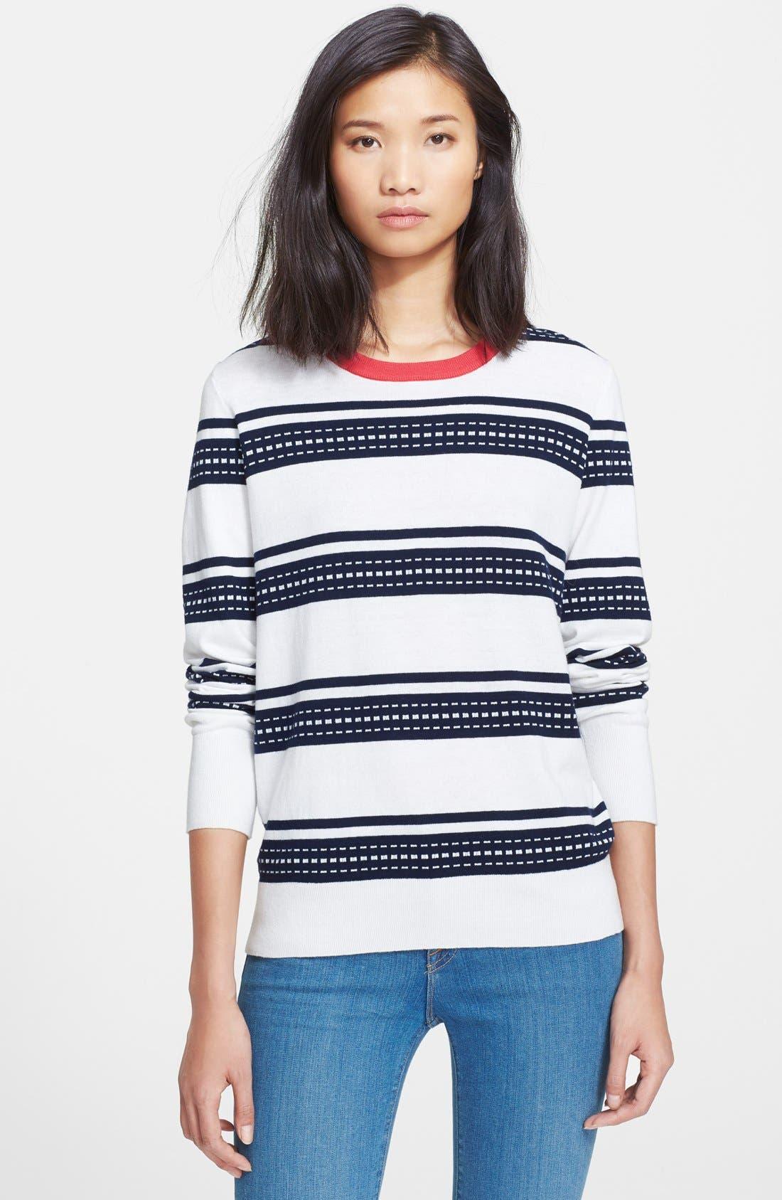 Alternate Image 1 Selected - Equipment 'Shane' Stripe Sweater