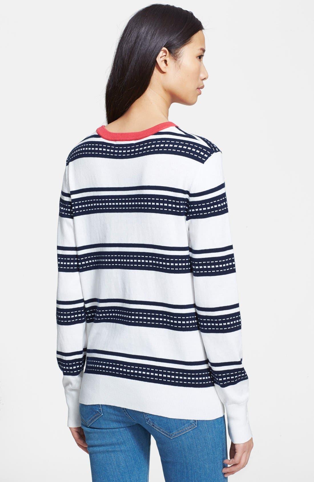 Alternate Image 2  - Equipment 'Shane' Stripe Sweater