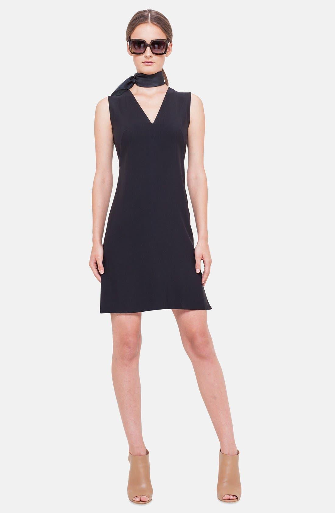 Main Image - Akris punto Flounce Hem Sleeveless Dress