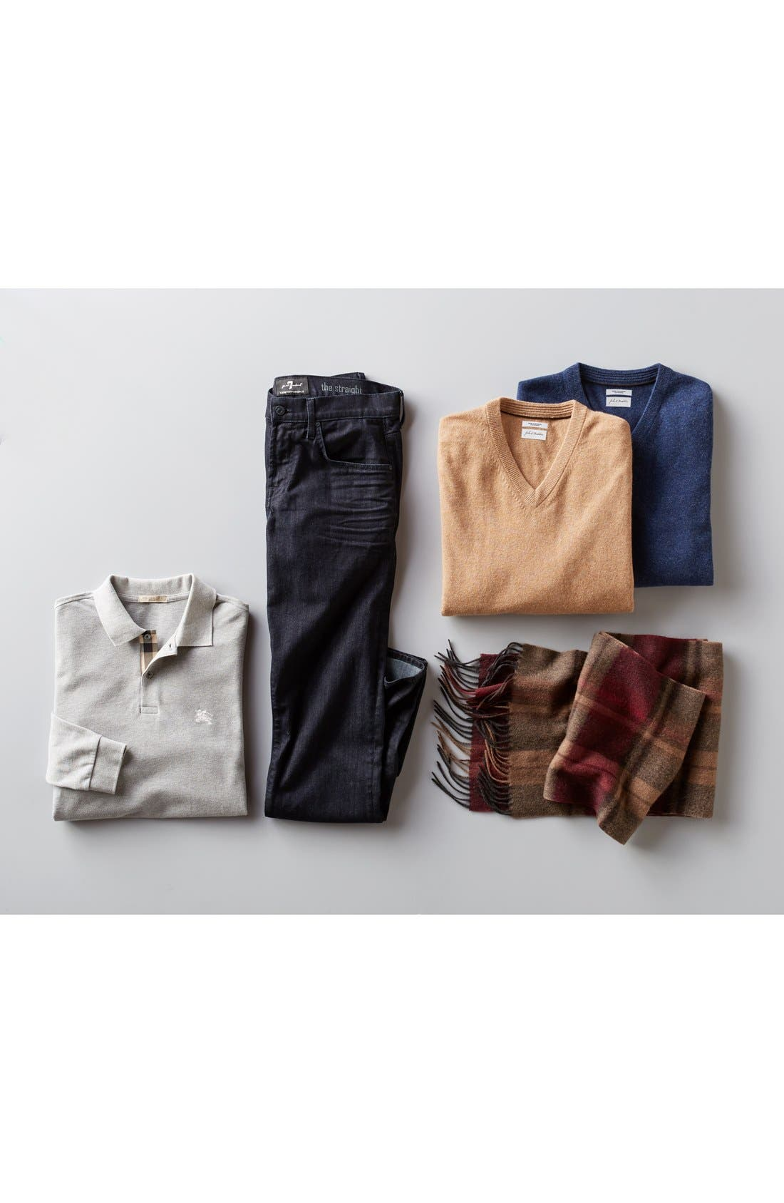 Alternate Image 7  - John W. Nordstrom® V-Neck Cashmere Sweater