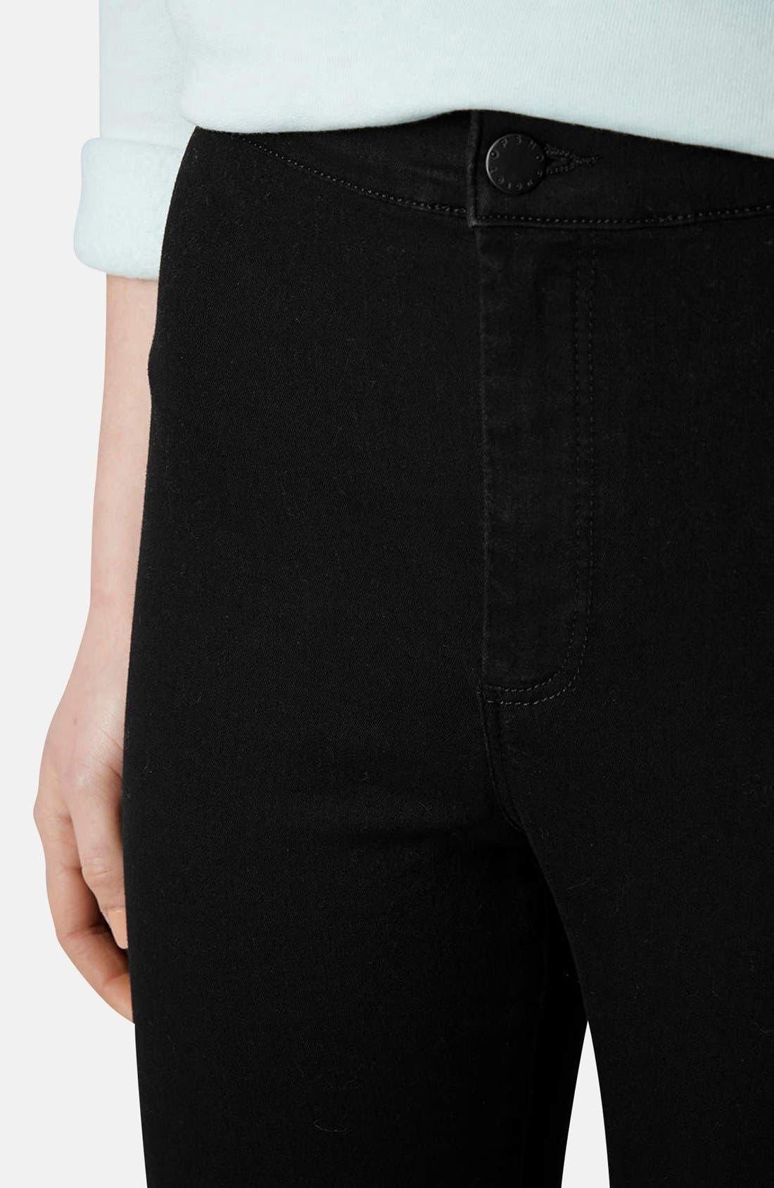 Alternate Image 4  - Topshop Moto 'Joni' High Rise Skinny Jeans (Regular & Petite)