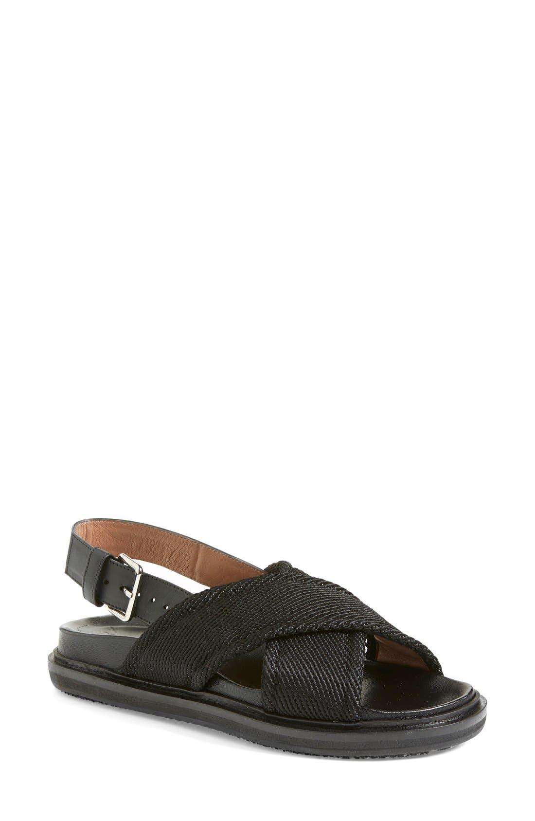Alternate Image 1 Selected - Marni 'Fussbett' Sandal (Women)