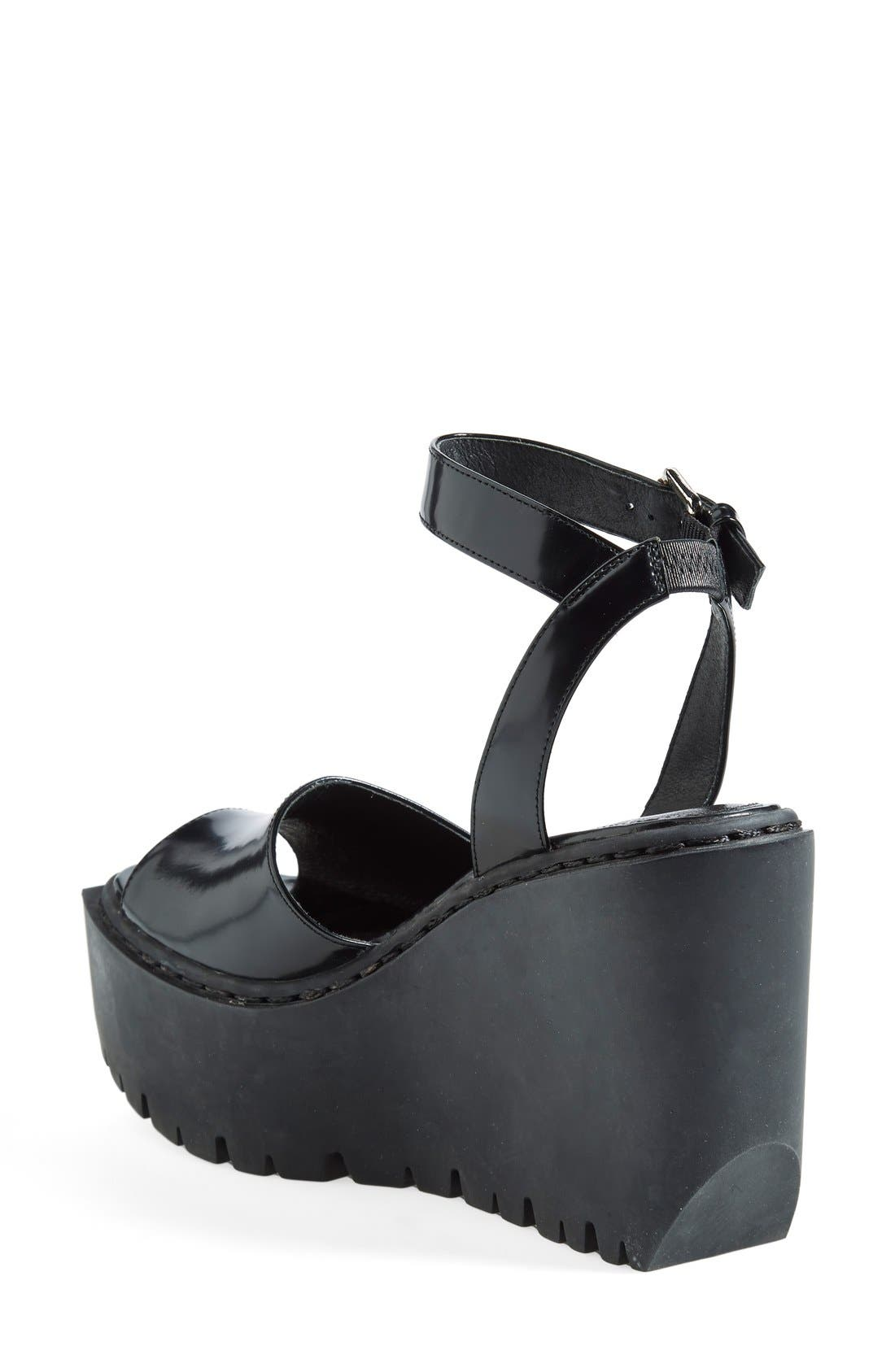 Alternate Image 2  - Opening Ceremony 'Grunge' Wedge Ankle Strap Sandal (Women)