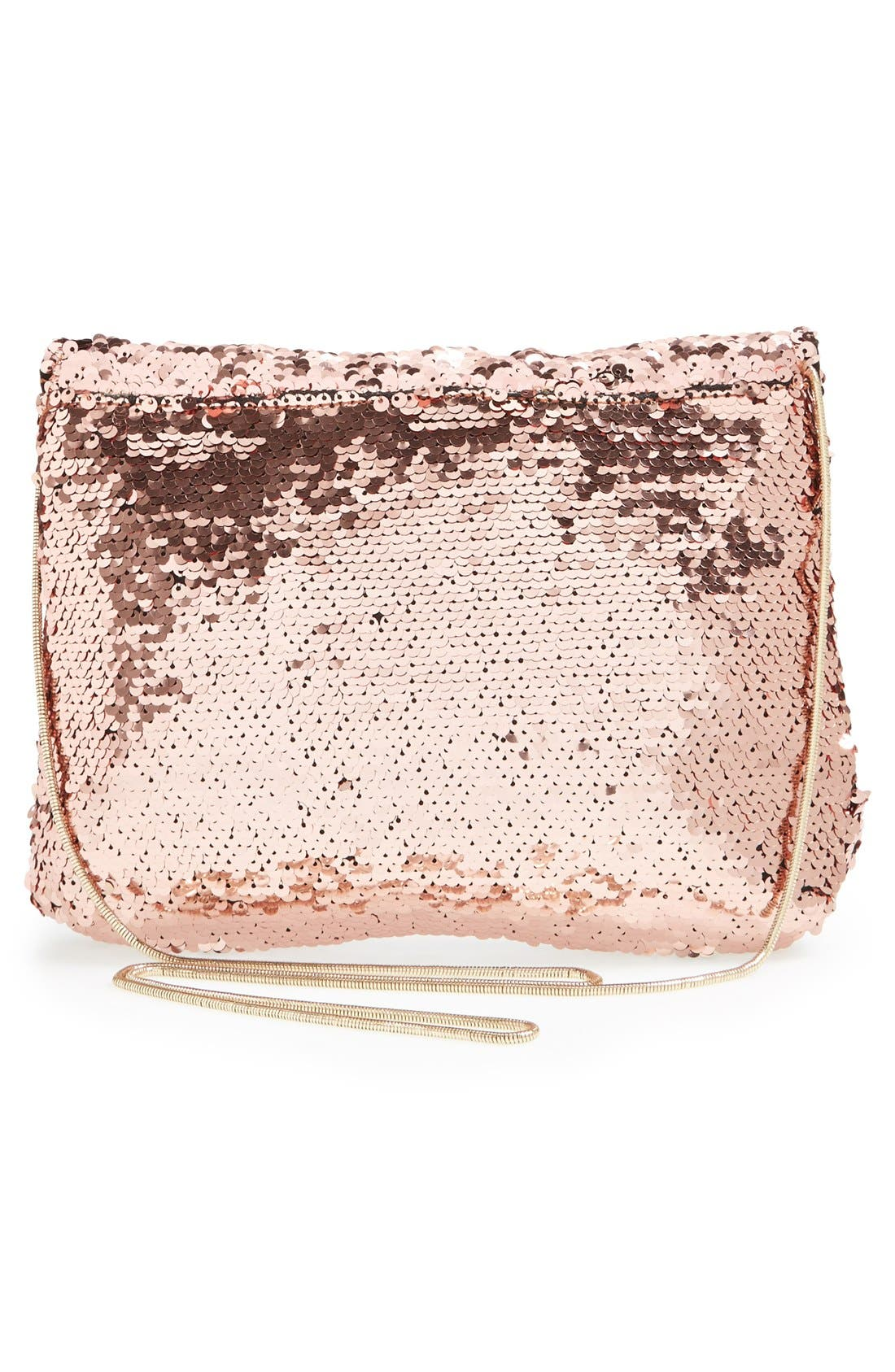 Alternate Image 4  - Deux Lux 'Ariel' Convertible Sequin Clutch