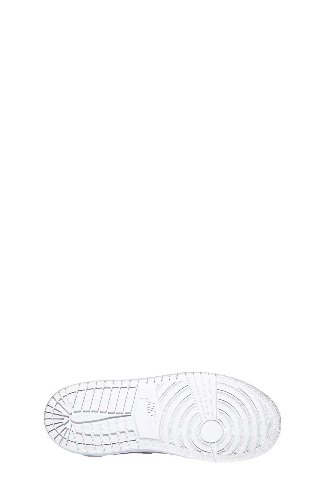 Alternate Image 4  - Nike 'Air Jordan 1 Mid' Sneaker (Toddler & Little Kid)