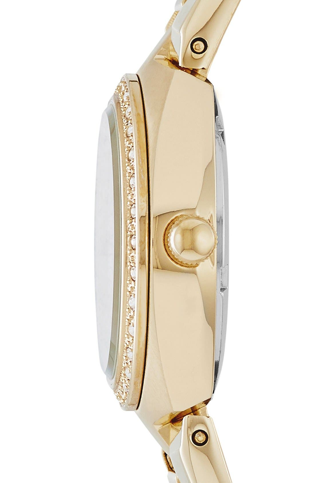 Alternate Image 3  - Fossil Crystal Dial Watch, 28mm