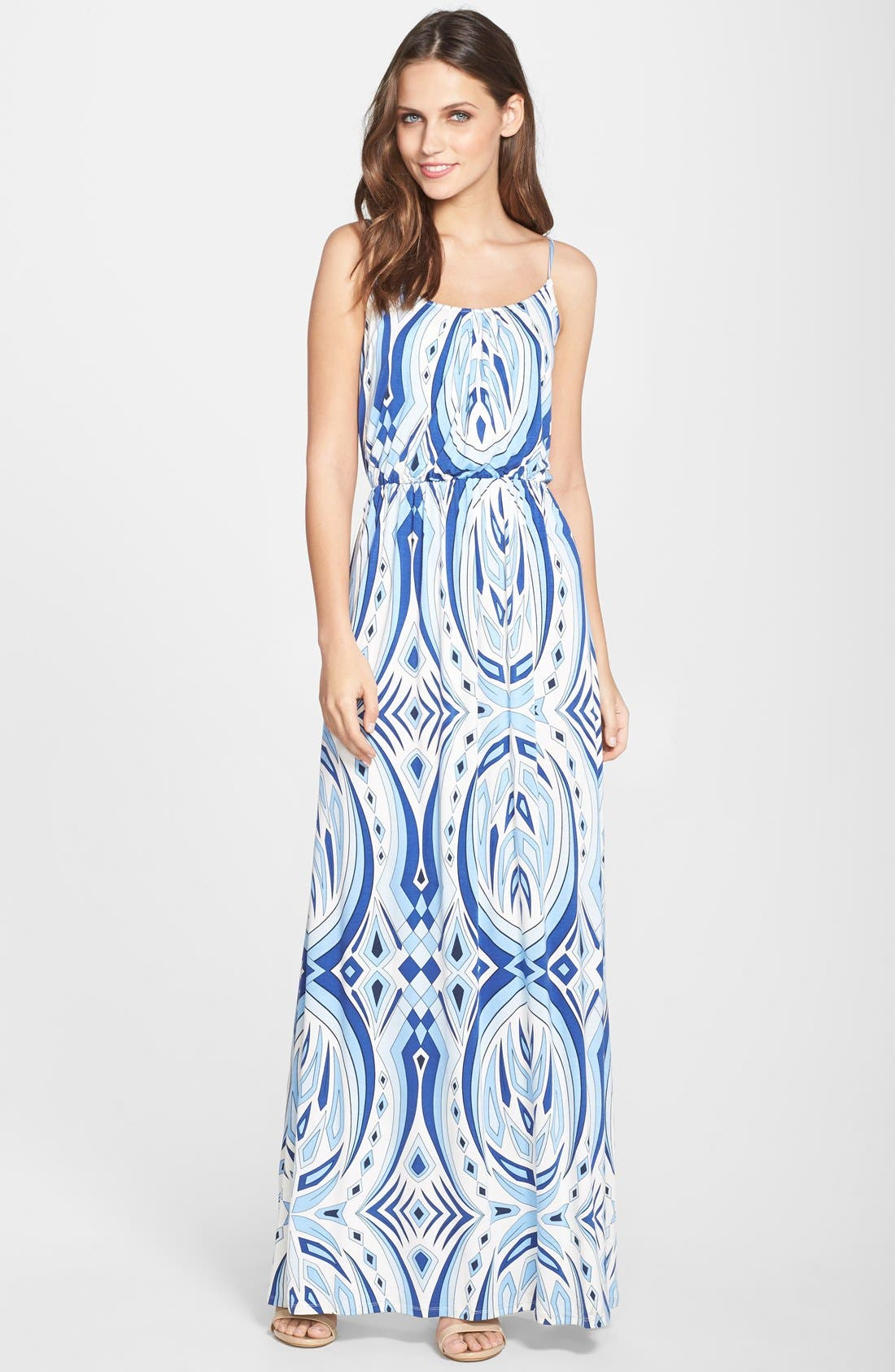 Alternate Image 1  - Felicity & Coco 'Ezri' Print Maxi Dress (Nordstrom Exclusive)