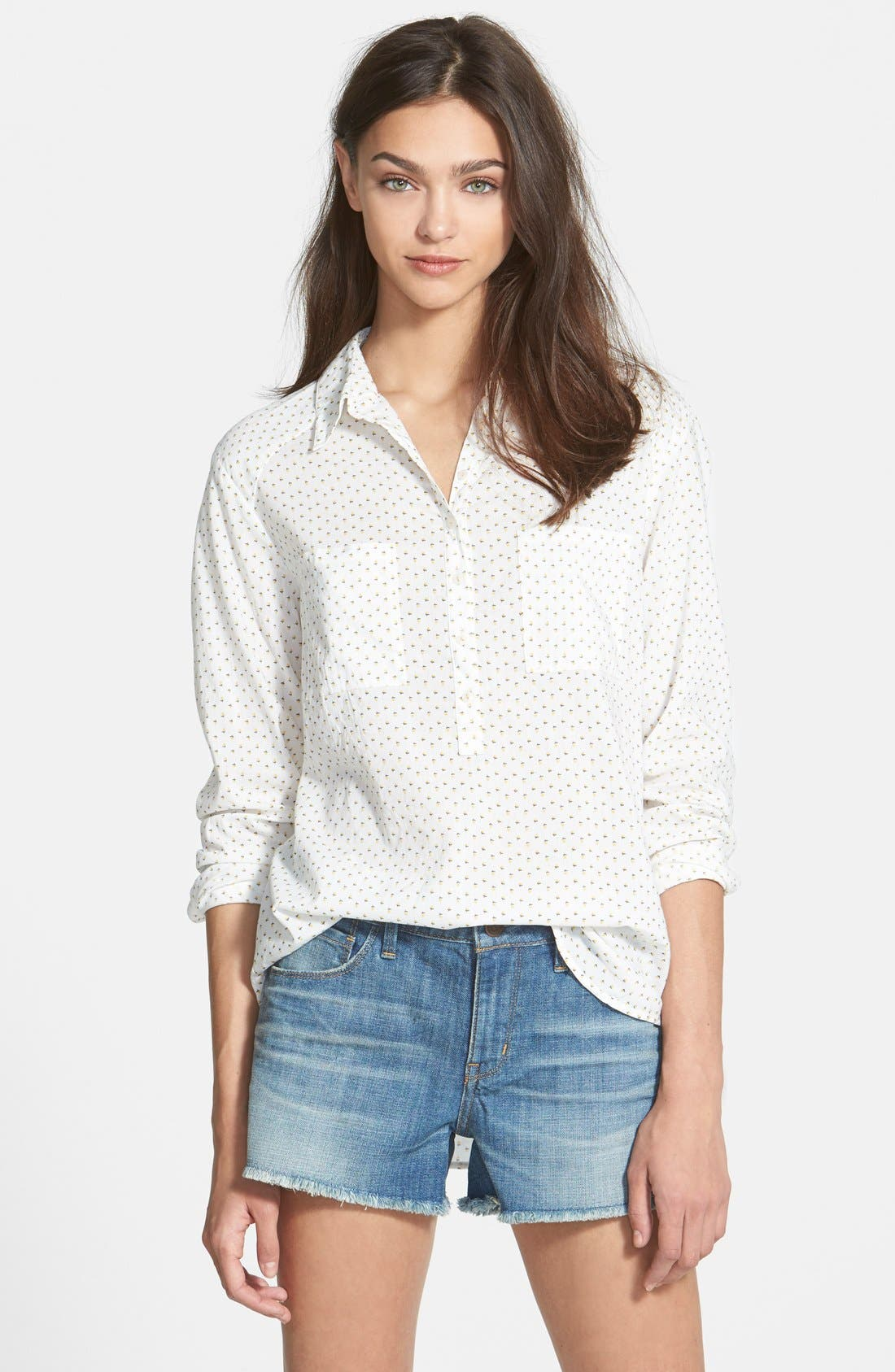 Alternate Image 1 Selected - Ace Delivery Ditsy Floral Shirt