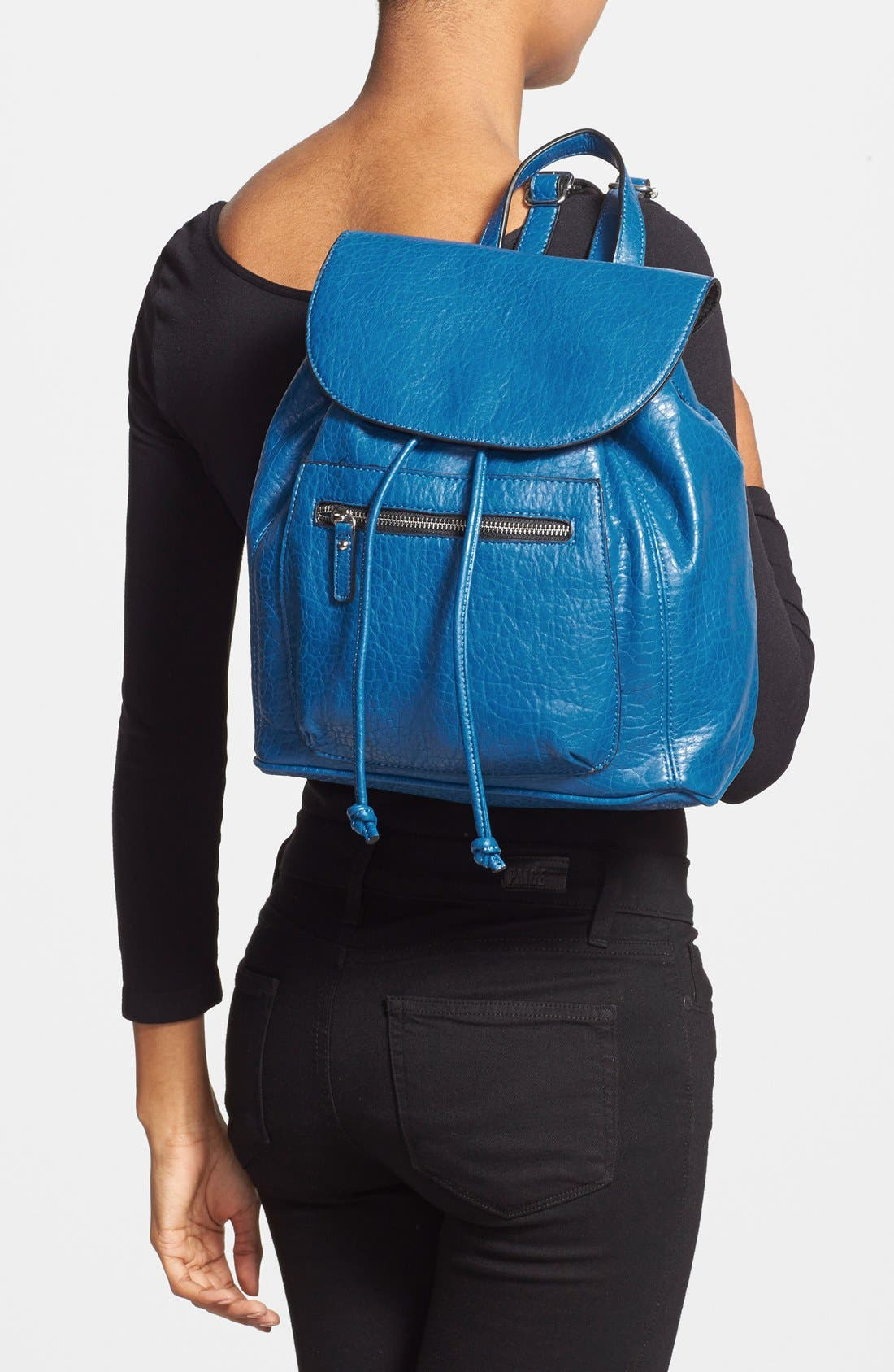 Alternate Image 2  - kensie 'Perfectly Pebbled' Faux Leather Backpack