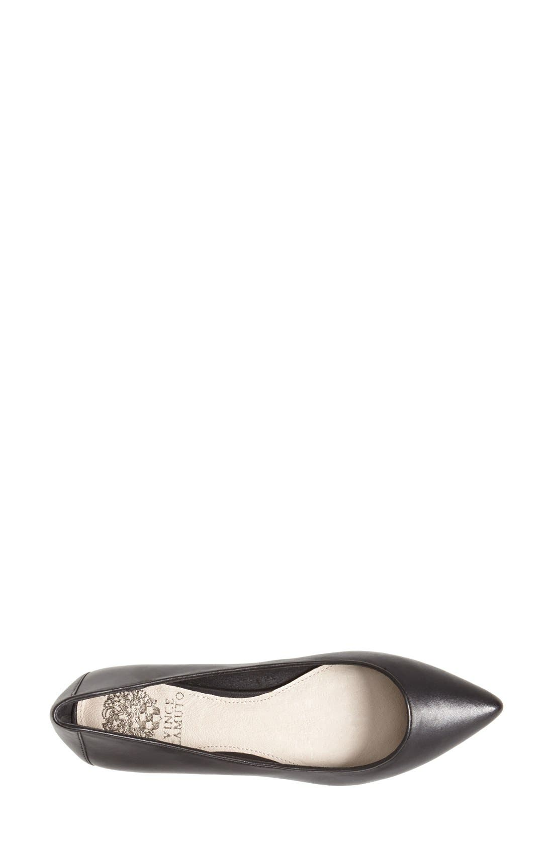 Alternate Image 3  - Vince Camuto 'Hasse' Pointy Toe Flat (Women)