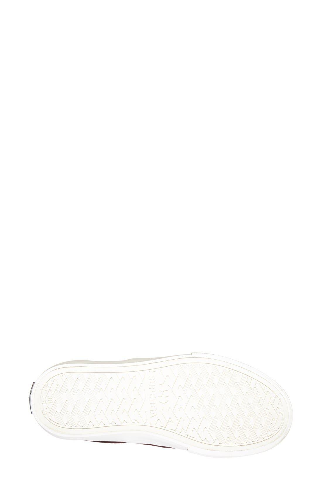 Alternate Image 4  - Superga Calf Hair Slip-On Sneaker (Women)