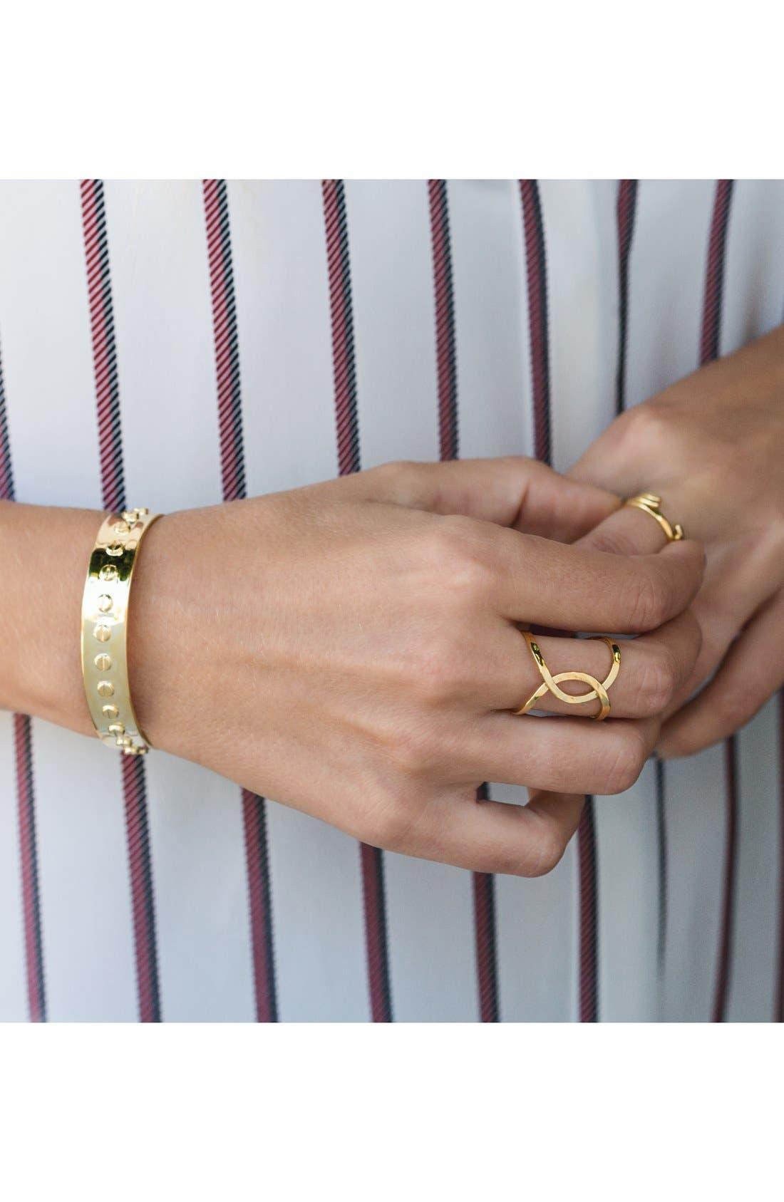 Alternate Image 5  - gorjana 'Taner' Interlocking Ring