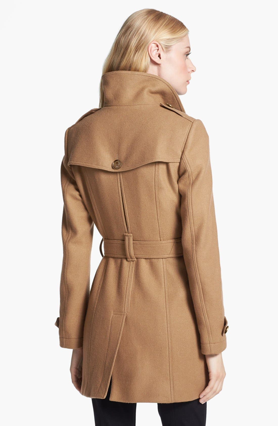 Alternate Image 2  - Burberry Brit 'Daylesmoore' Wool Blend Trench Coat