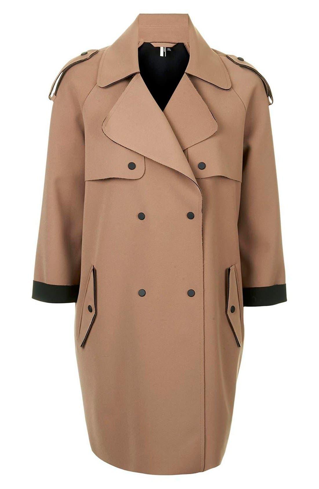 Alternate Image 3  - Topshop 'LBonded' Trench Coat