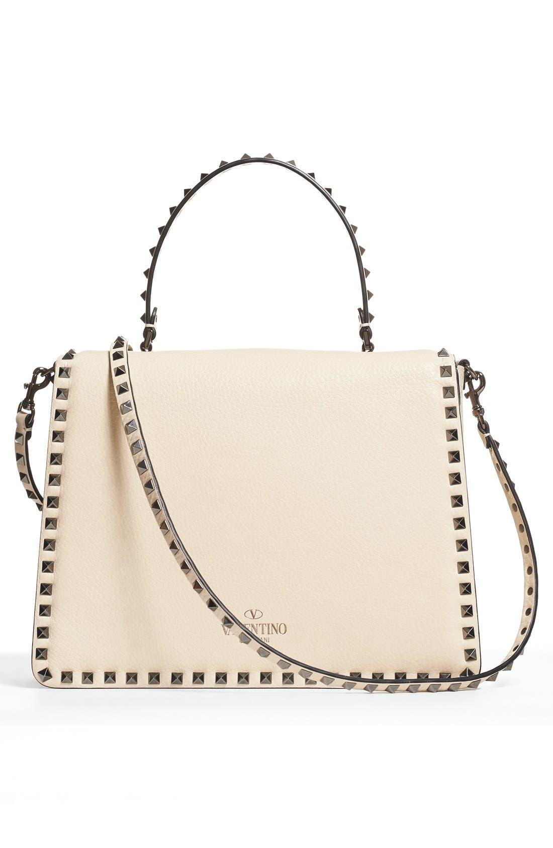 Alternate Image 2  - Valentino Rockstud Framed Leather Handbag