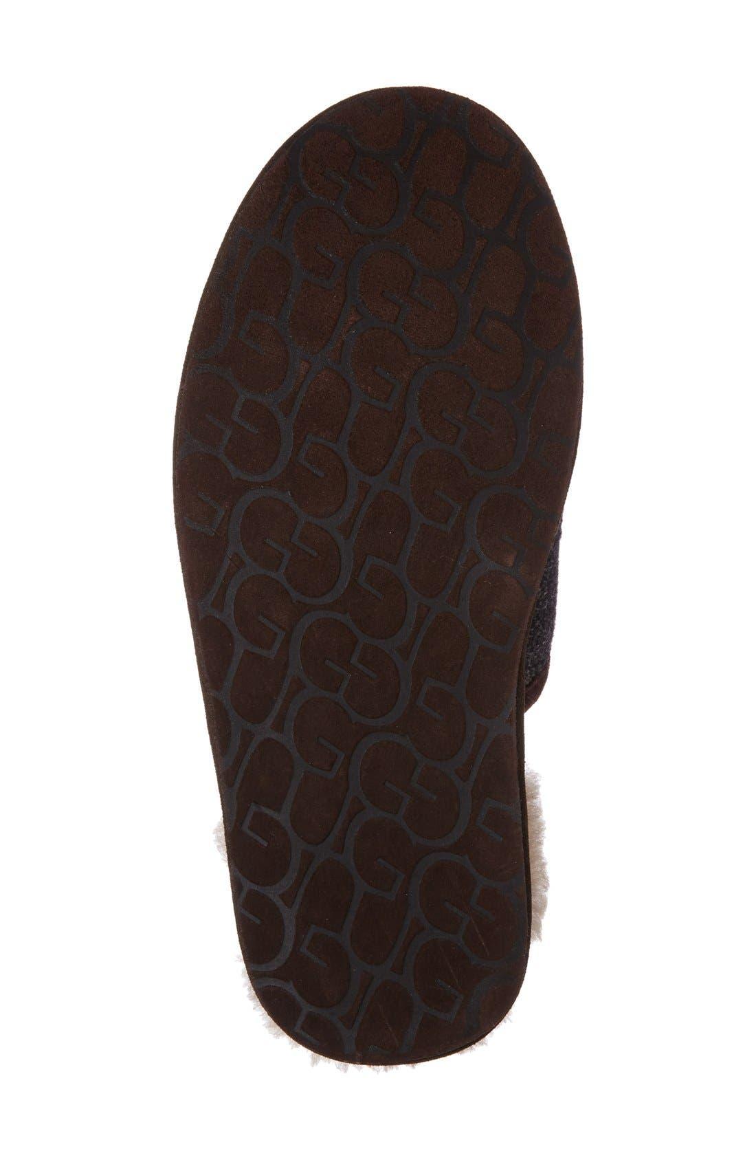 Alternate Image 4  - UGG® Ascot UGGpure Slipper (Men)