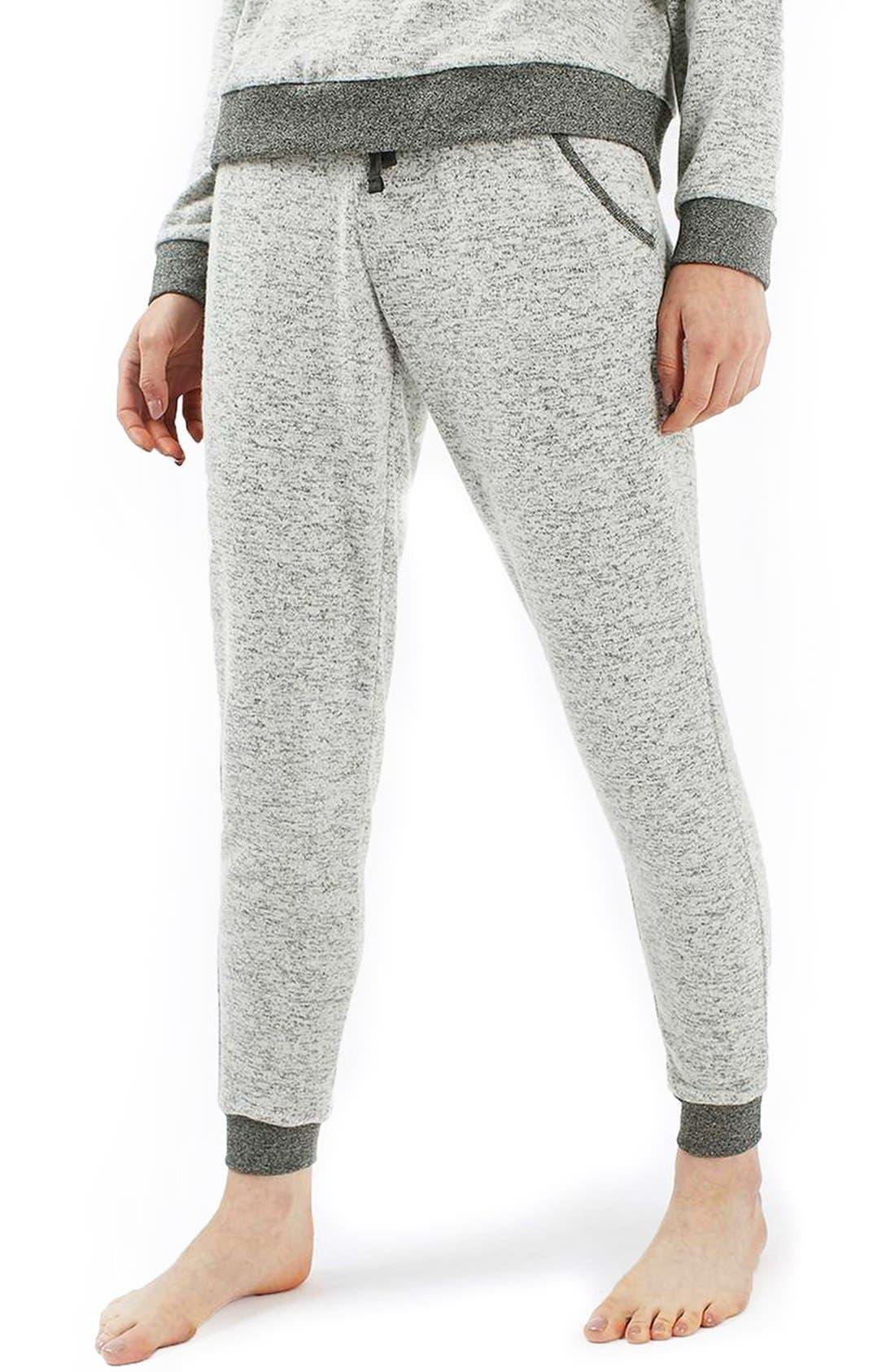 Alternate Image 1 Selected - Topshop Jogger Sweatpants