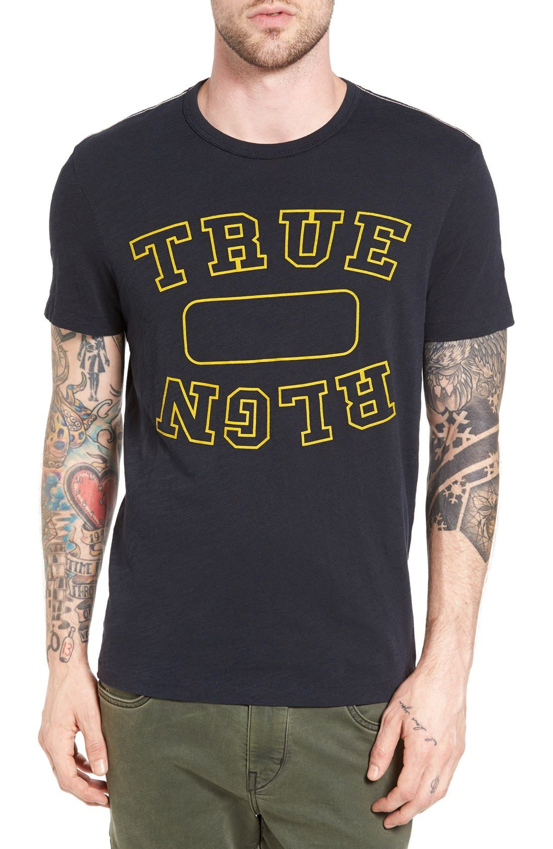 True Religion Brand Jeans Locker Graphic T-Shirt