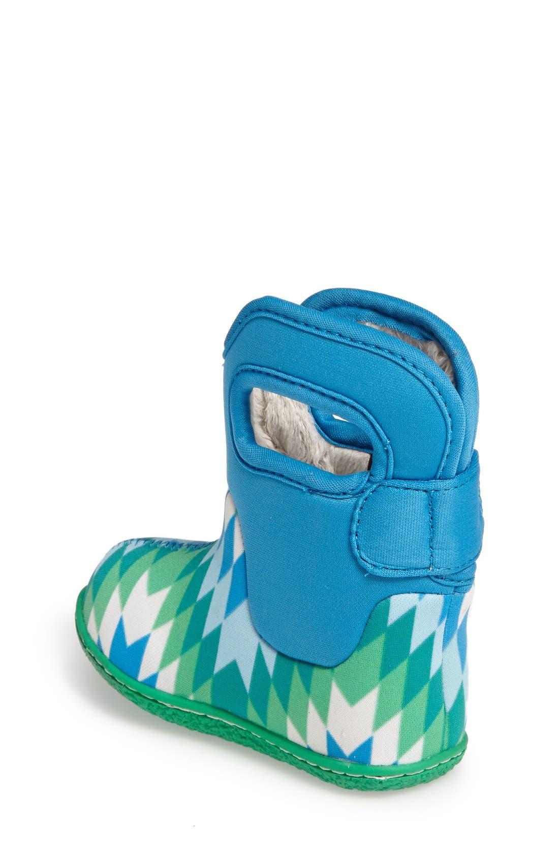 Alternate Image 2  - Bogs 'Classic' Waterproof Snow Boot (Baby, Walker & Toddler)