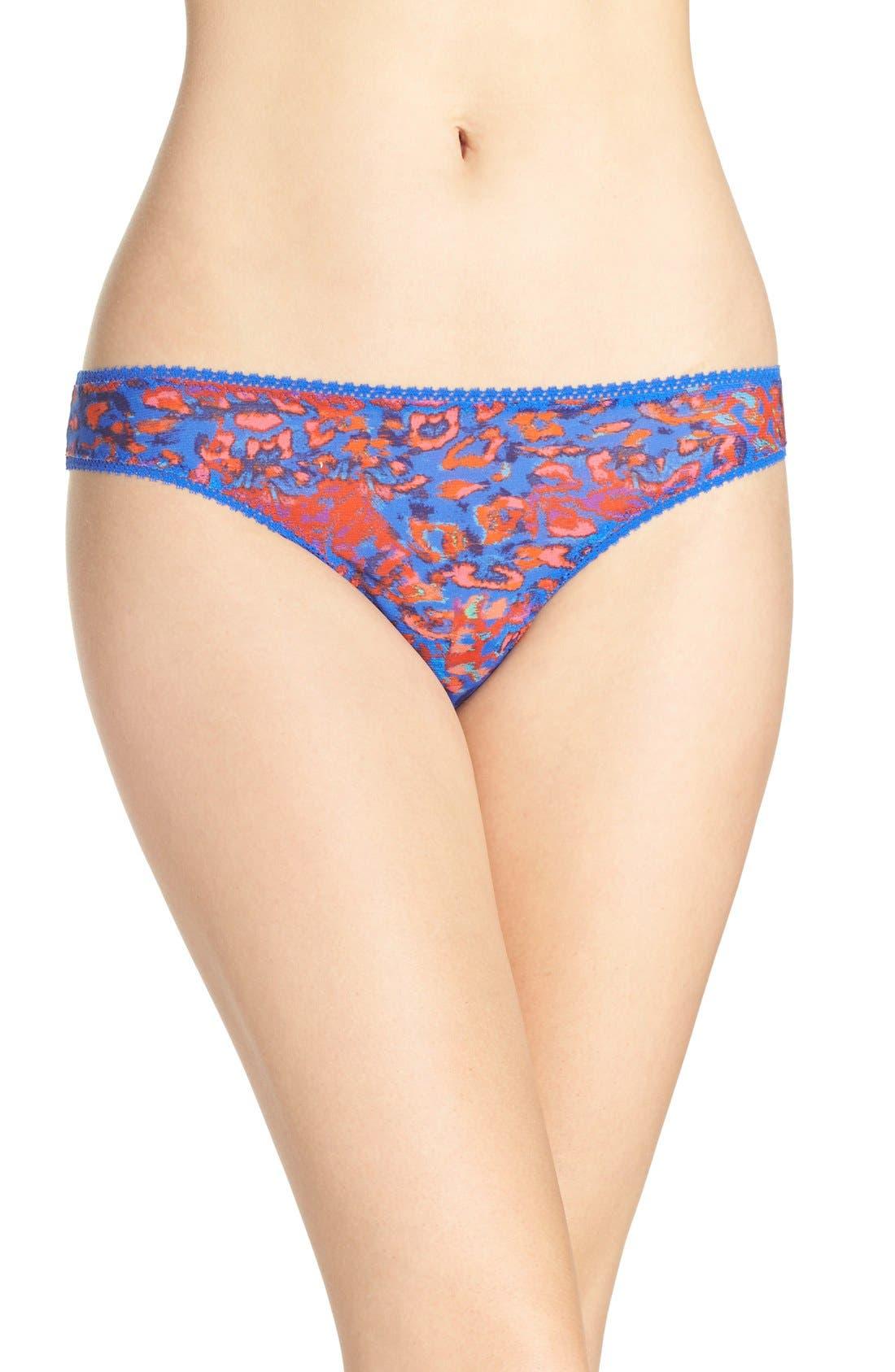 Alternate Image 1 Selected - On Gossamer 'Triple Twist' Bikini (3 for $45)