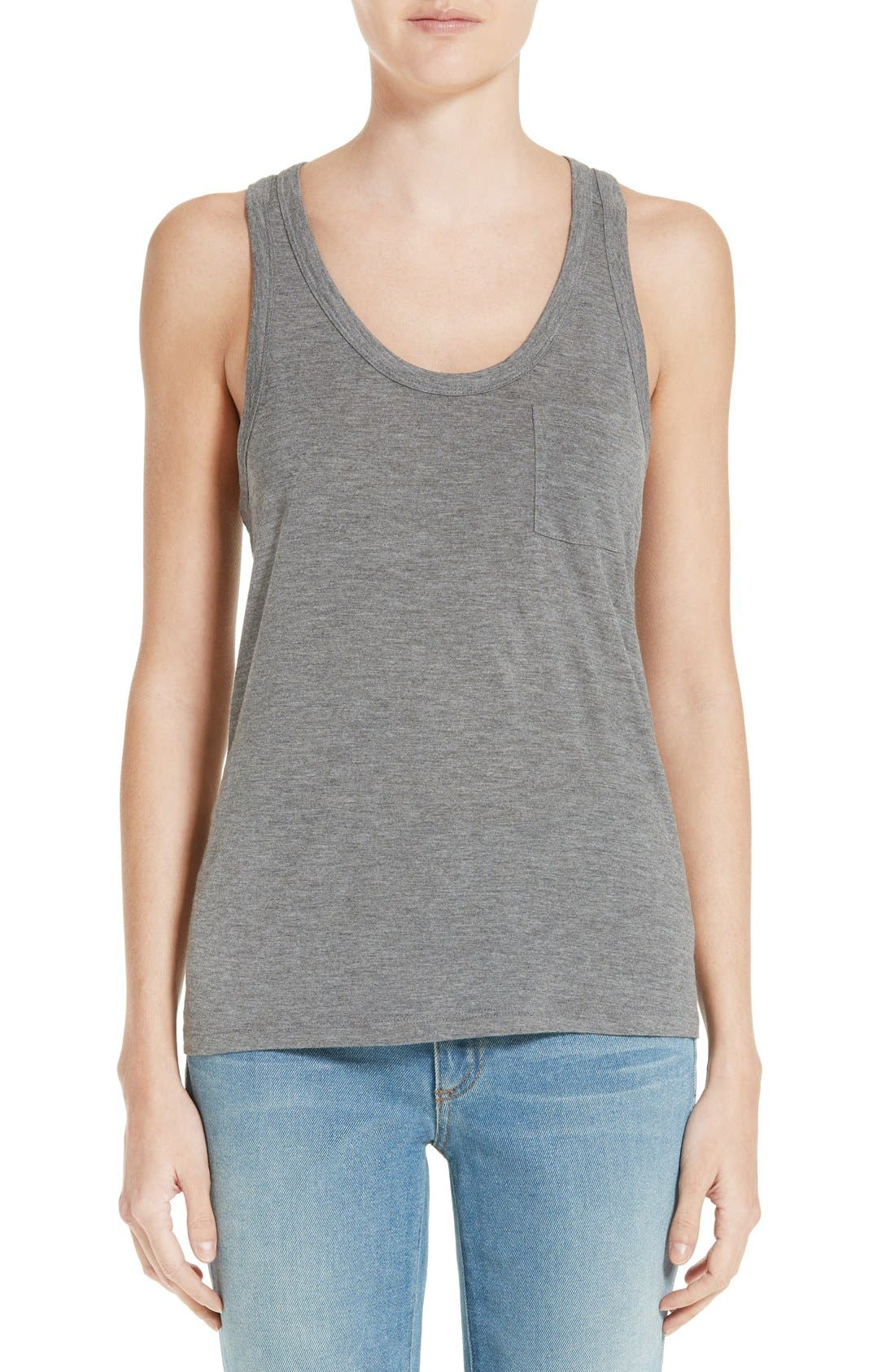 T by Alexander Wang Classic Jersey Tank