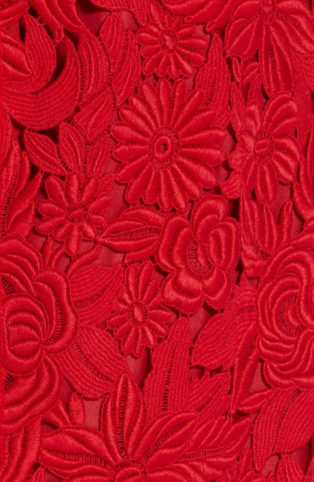 Alternate Image 3  - Valentino Guipure Lace Midi Skirt