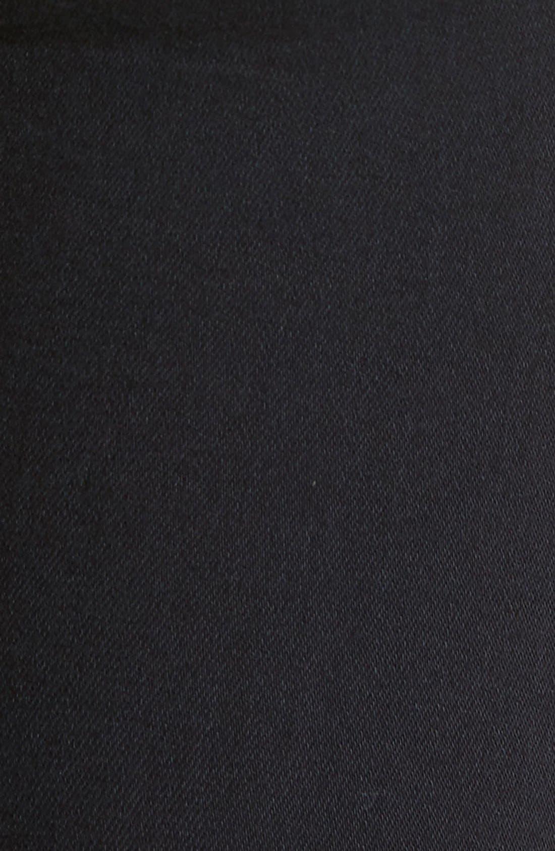 Alternate Image 5  - Vigoss Distressed Zip Skinny Jeans