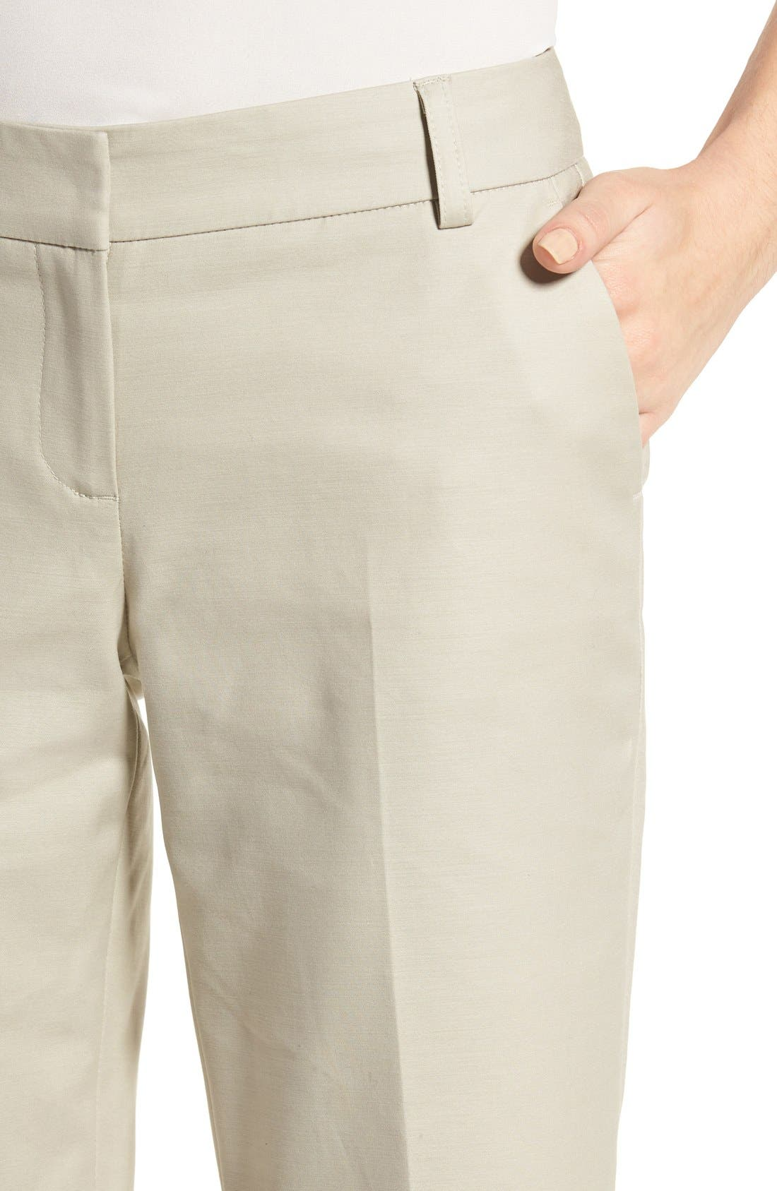 Alternate Image 5  - Halogen® Stretch Bermuda Shorts (Regular & Petite)