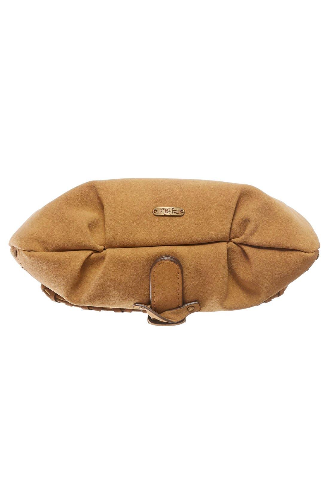 Alternate Image 4  - Elle & Jae Gypset Sevilla Studded Faux Suede Crossbody Bag