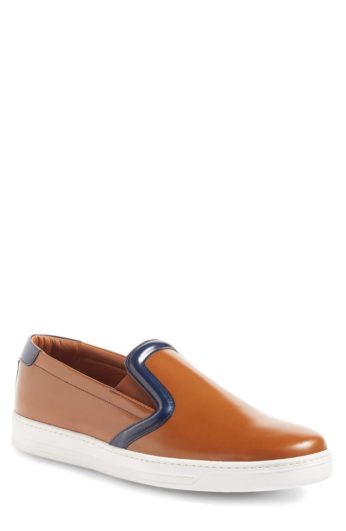 PRADA LINEA ROSSA Slip-On Sneaker