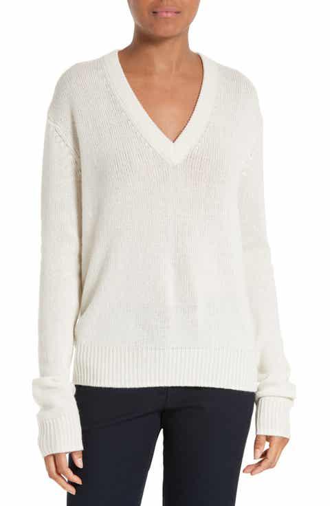 JOSEPH Tie Back Cashmere Sweater