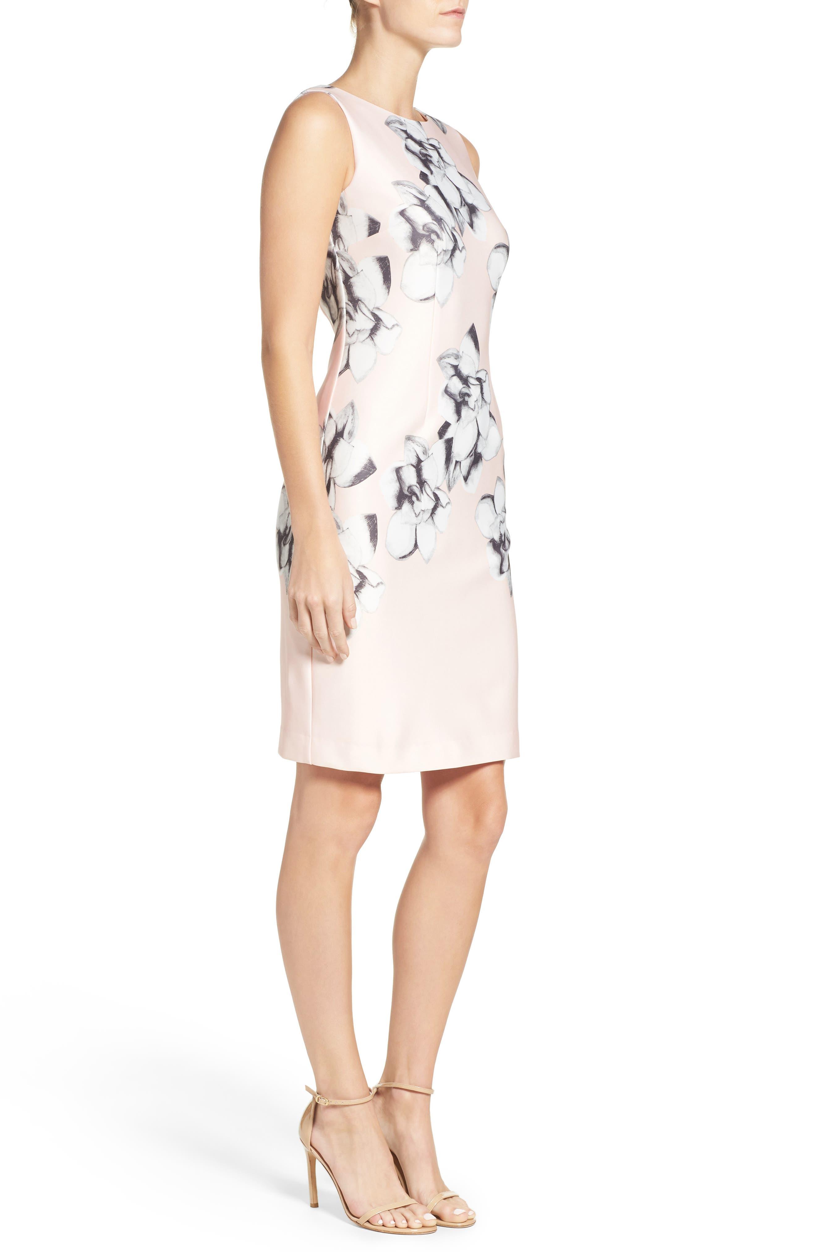 Alternate Image 3  - Chetta B Scuba Sheath Dress