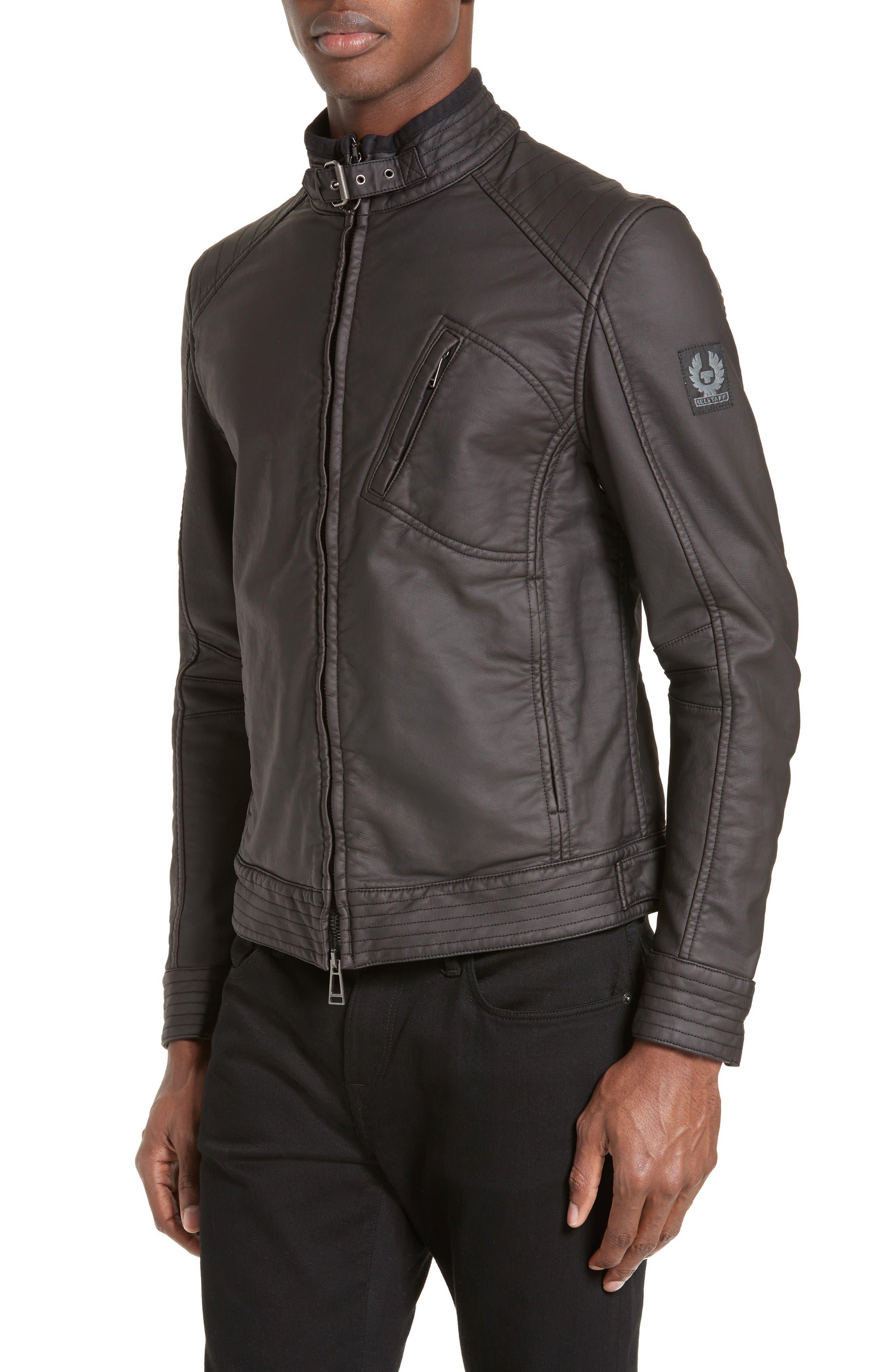 BELSTAFF 'Racer Jersey' Cotton Moto Jacket