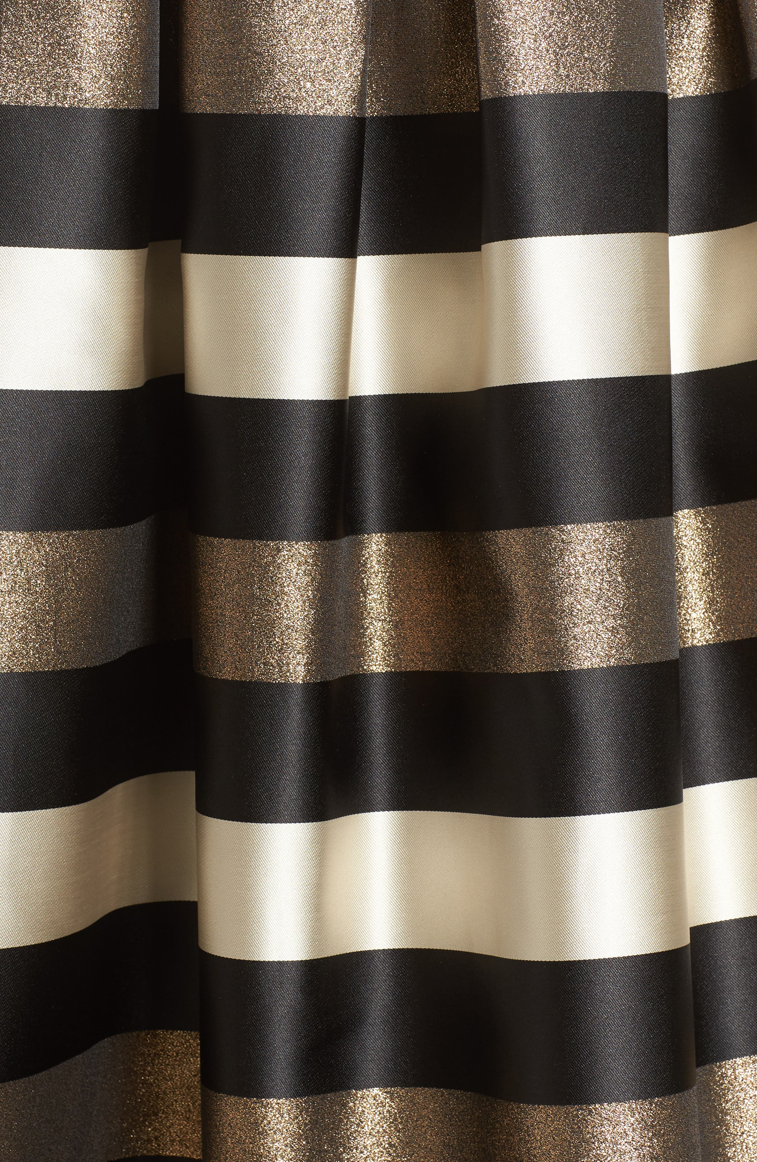 Alternate Image 6  - Eliza J Metallic Stripe Ball Skirt