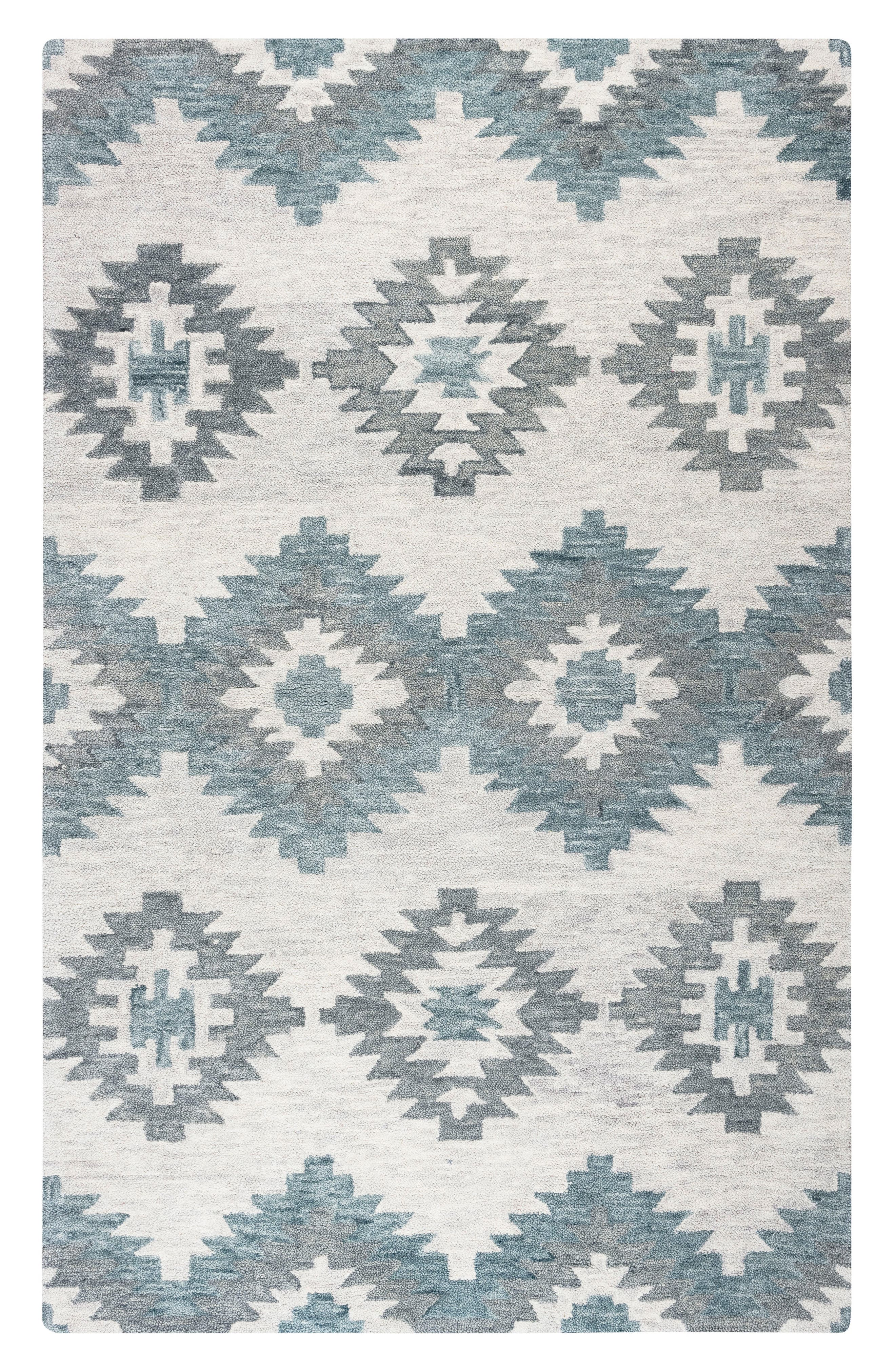 Rizzy Home Taos Hand Tufted Wool Area Rug