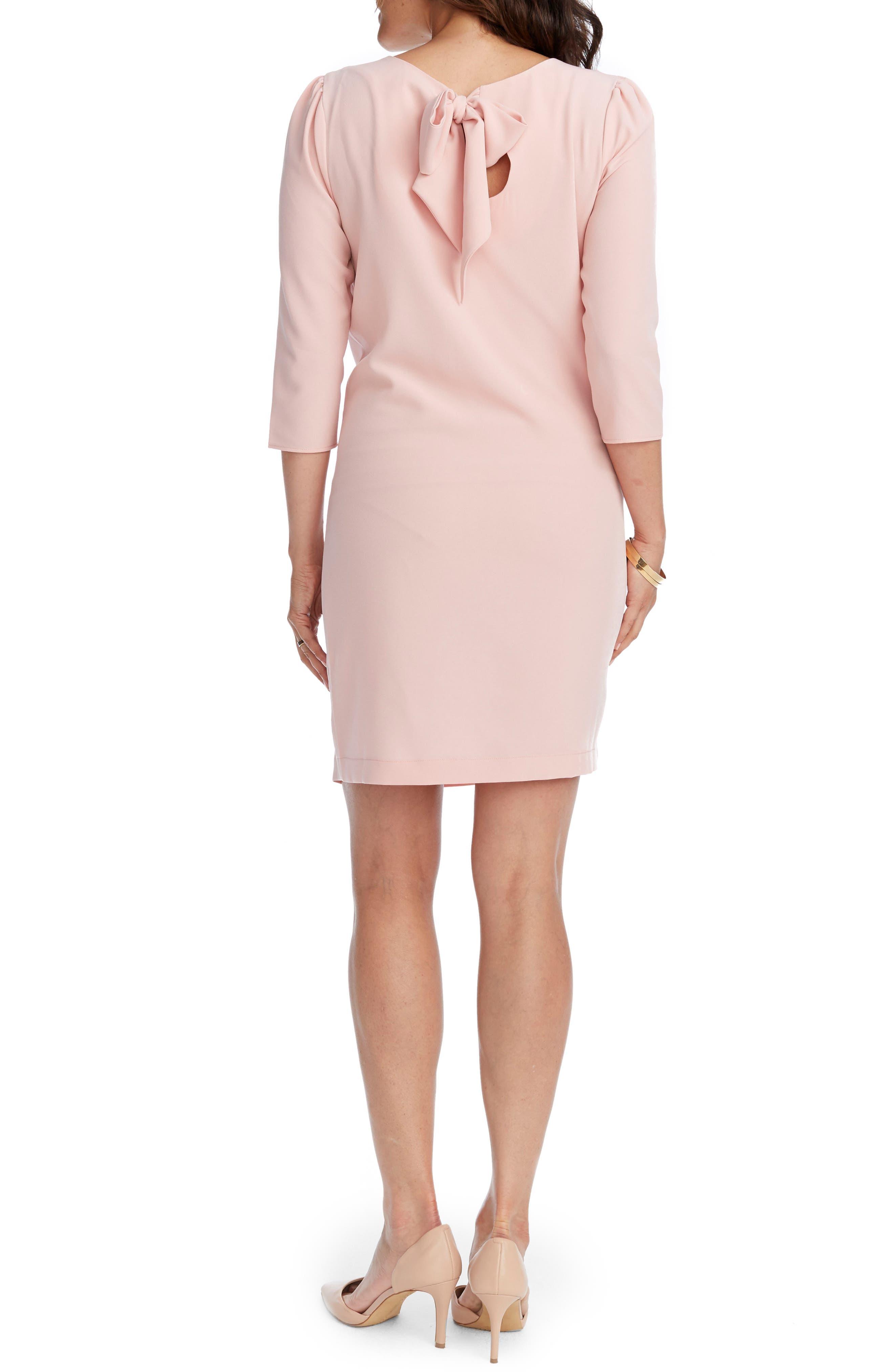 Alternate Image 2  - Rosie Pope Cammie Maternity Shift Dress