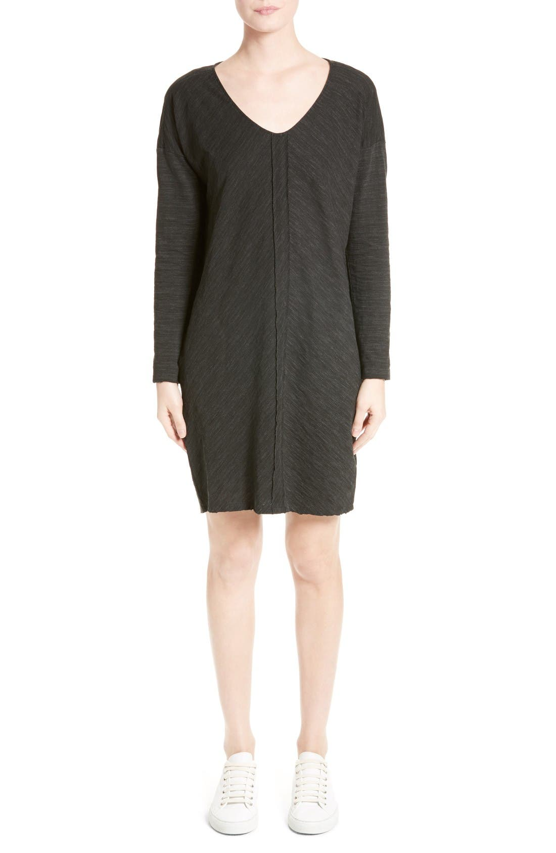 ATM ANTHONY THOMAS MELILLO Textured Shift Dress
