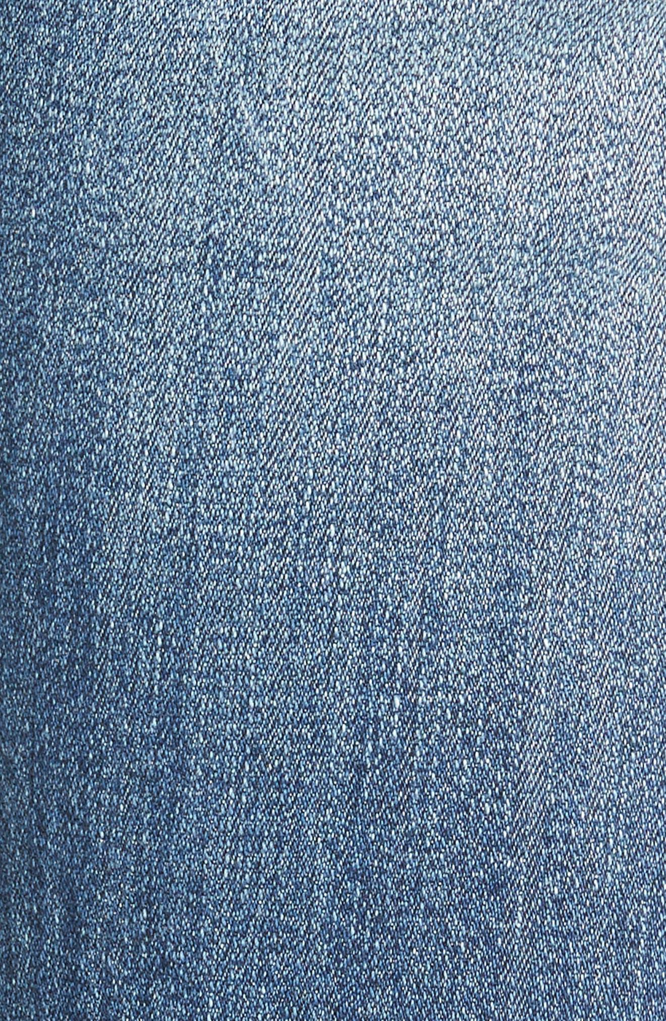 Alternate Image 5  - SP Black Decon Destroyed Boyfriend Jeans