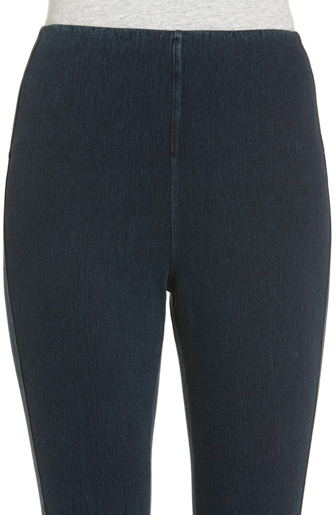 Alternate Image 4  - Lyssé Noho Zip Denim Leggings