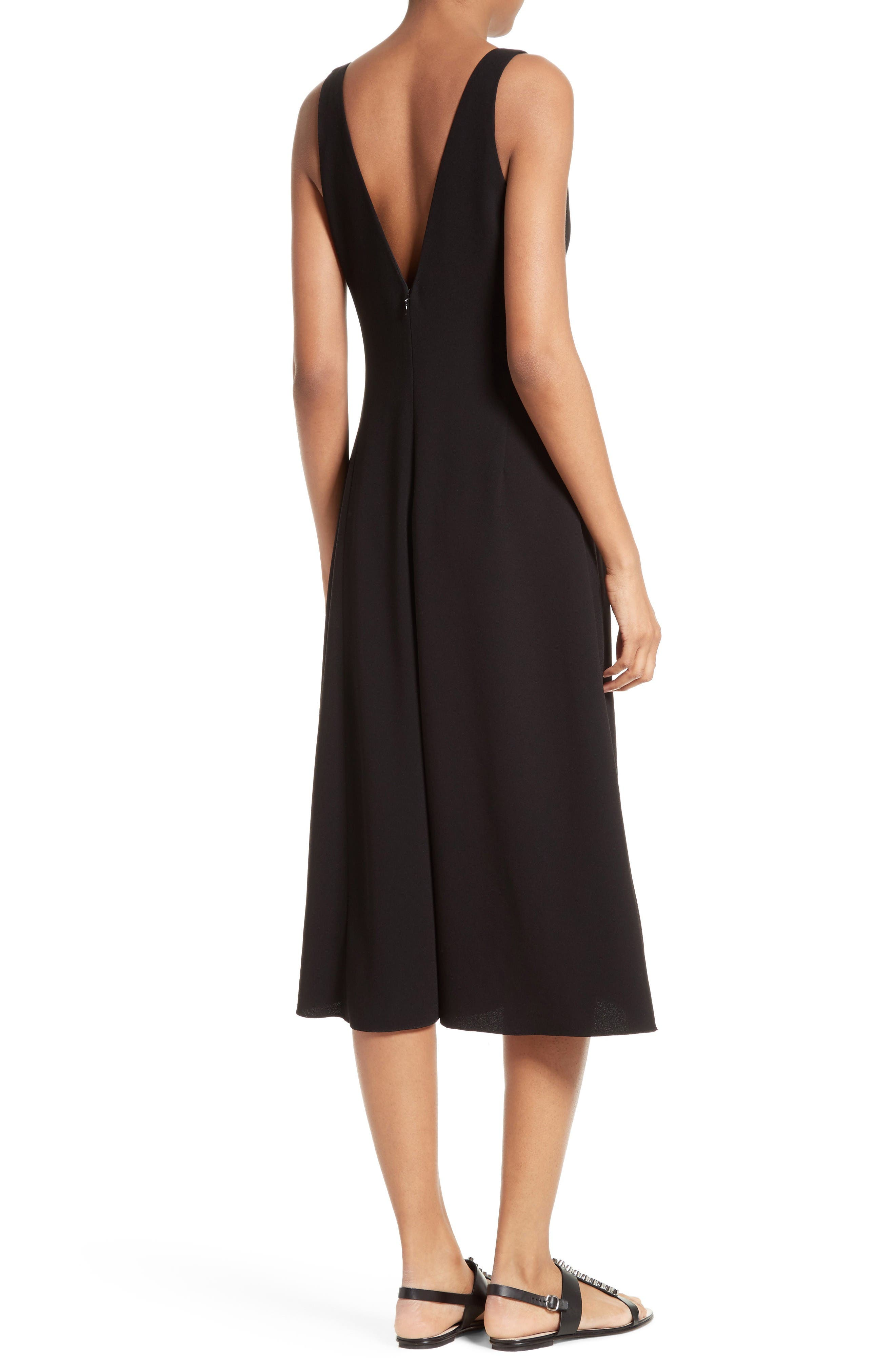 Alternate Image 2  - Theory Tadayon B Elevate Crepe Midi Dress