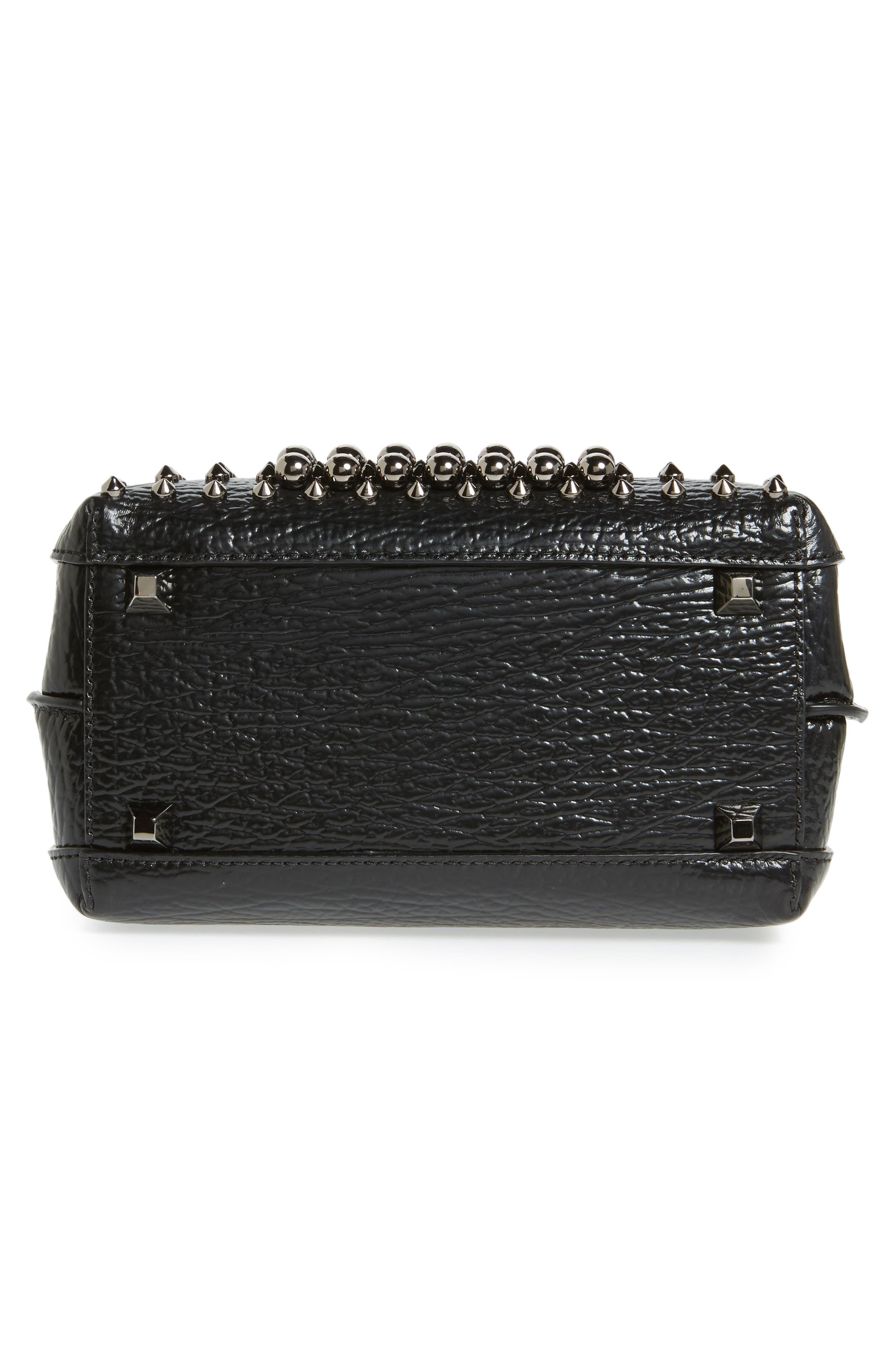 Alternate Image 6  - MCM Mini Milla Studs Leather Tote