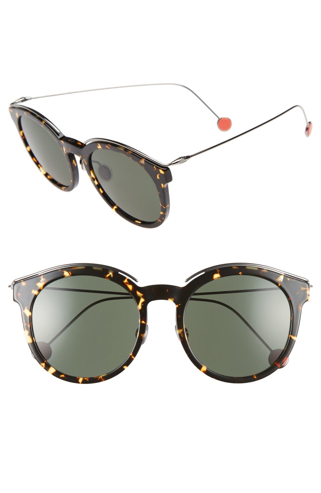 DIOR Blossom 52mm Round Sunglasses